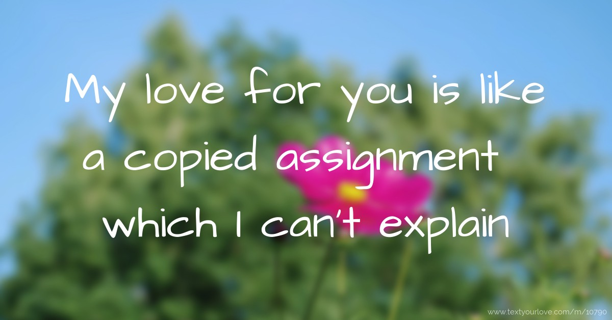 write assignments for you Why integrate writing assignments how can you help students improve their writing responding to low-stakes writing how can you design an effective writing assignment.