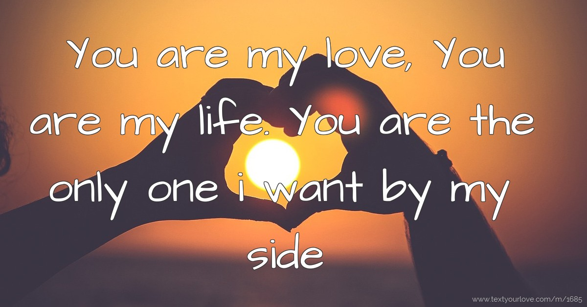 One i you are want the You're the