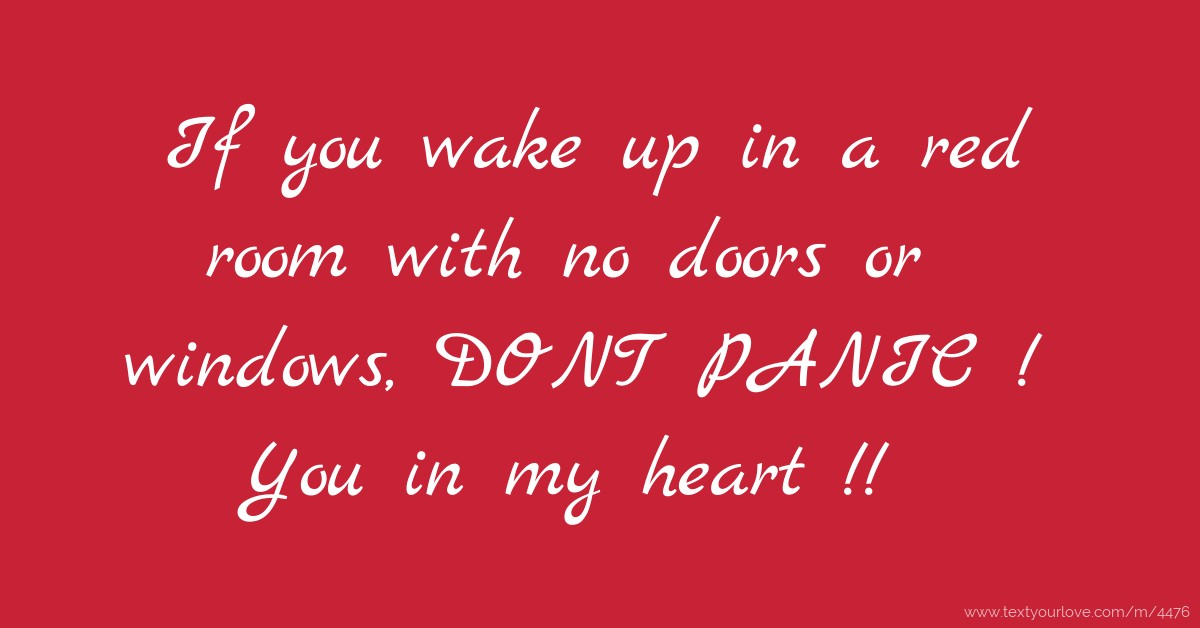 wake up messages