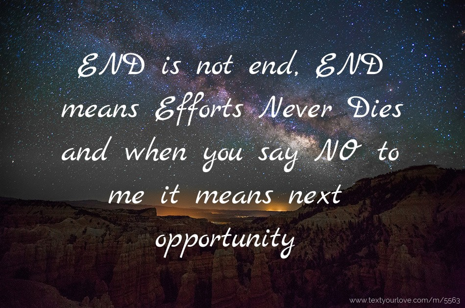 Means And Ends