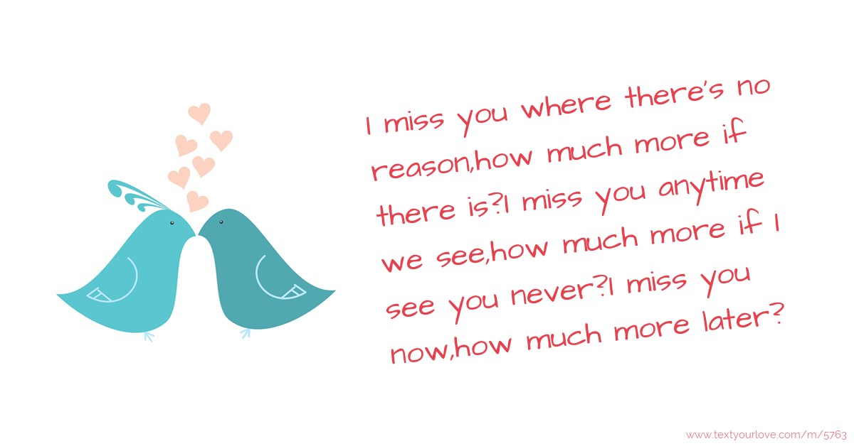 You as miss Miss You