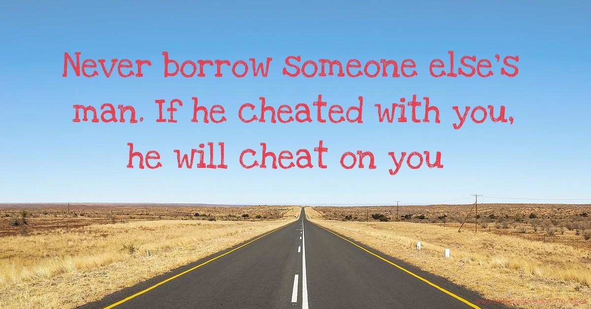 will he cheat